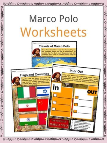 Marco Polo Worksheets