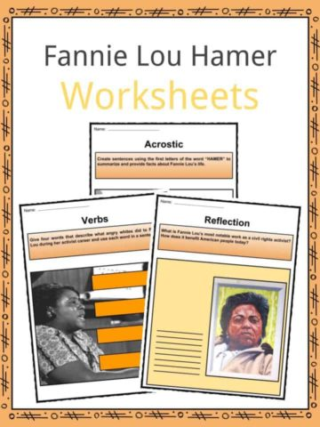 Fannie Lou Hamer Worksheets