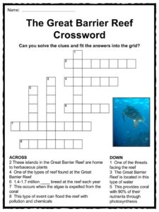 Great Barrier Reef Facts, Worksheets, Ecology & Geology ...