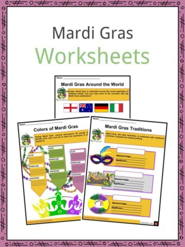 Mardi Gras Worksheets