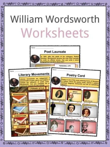William Wordsworth Worksheets