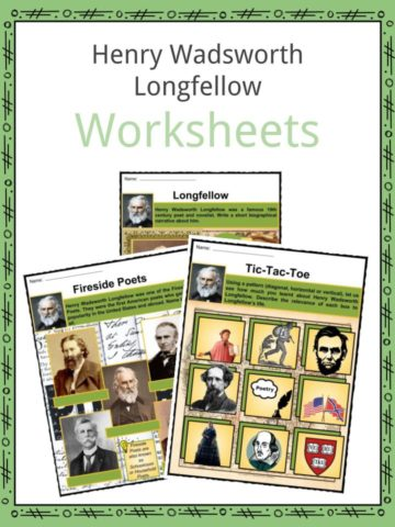 Henry Wadsworth Longfellow Worksheets