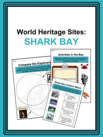 Shark Bay Worksheets