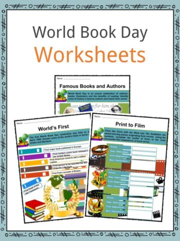 World Book Day Worksheets