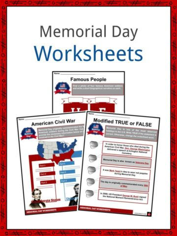 Memorial Day Worksheets
