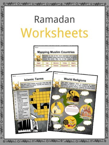 Ramadan Worksheets