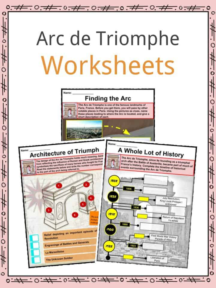 Arc De Triomphe Worksheet