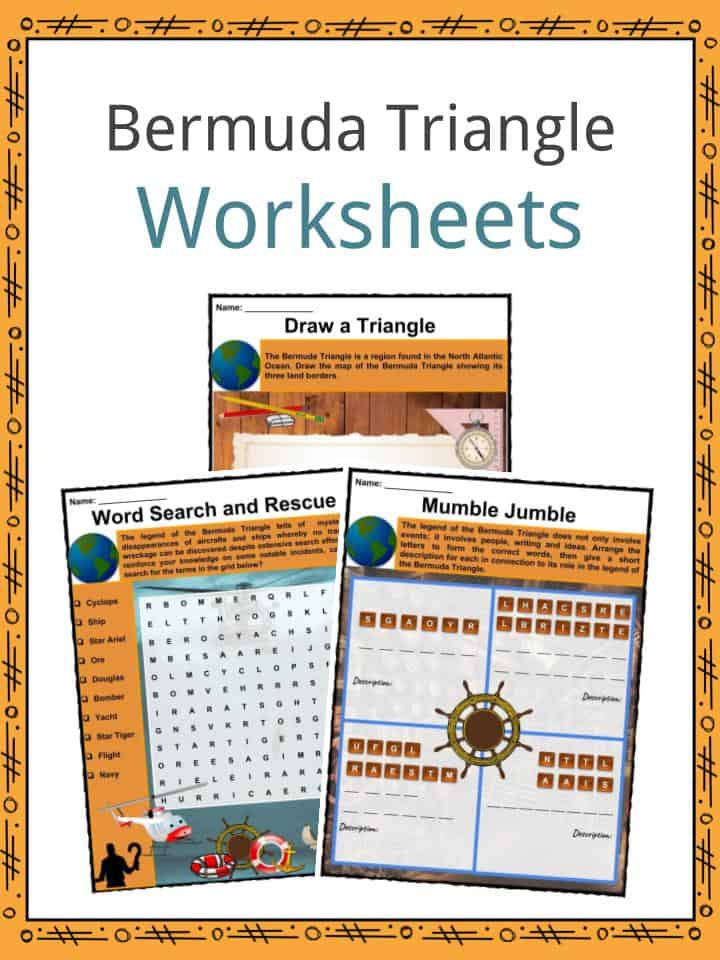 Bermuda Triangle Worksheets