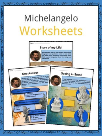Michelangelo Worksheets
