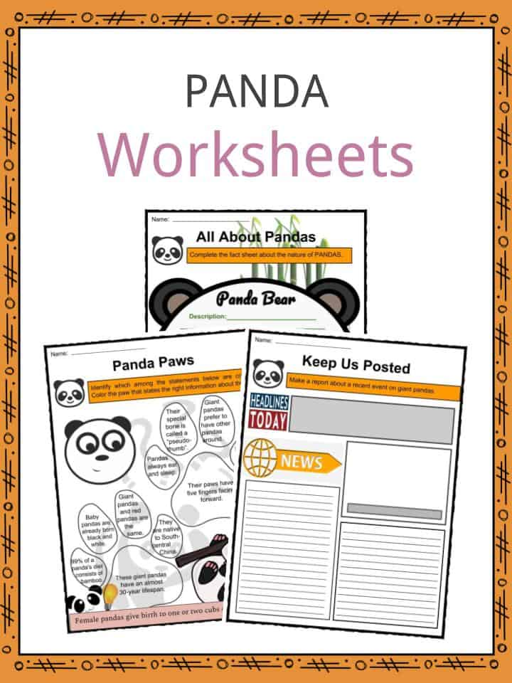 Panda Worksheets