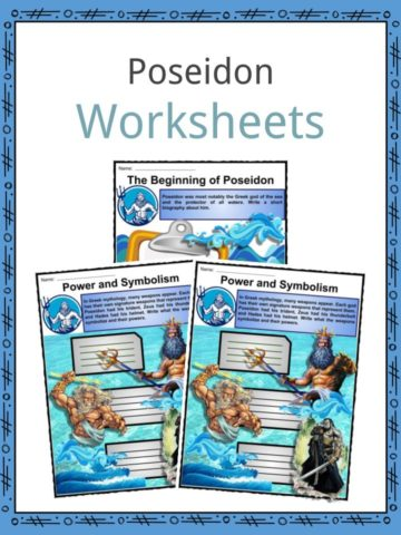Poseidon Worksheets
