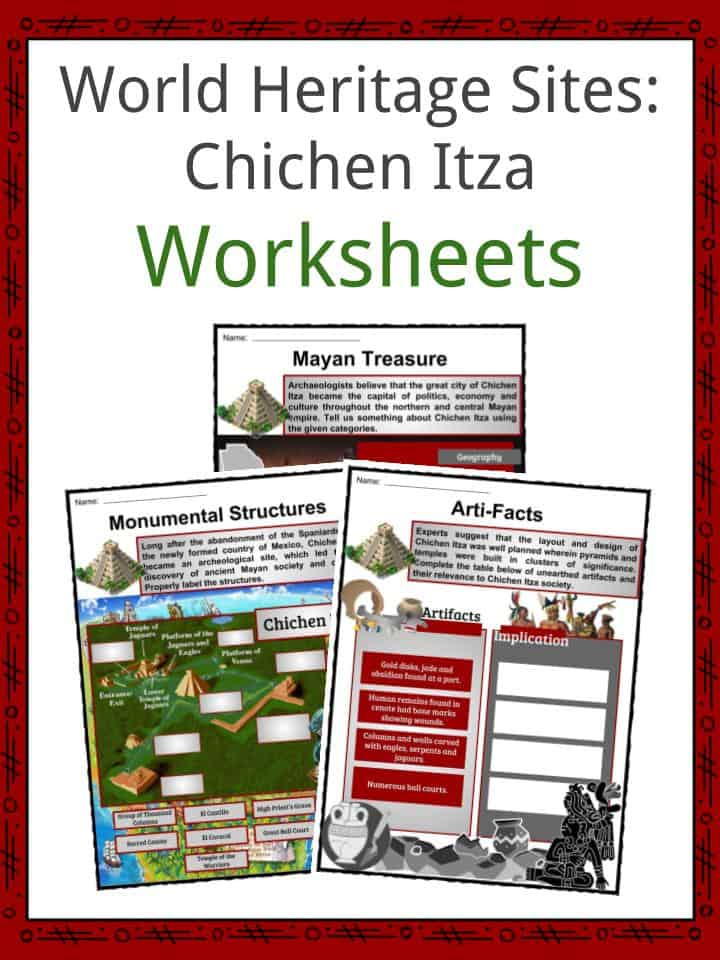 Chichen Itza Worksheets