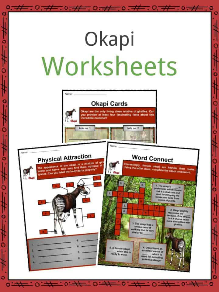 Okapi Worksheets