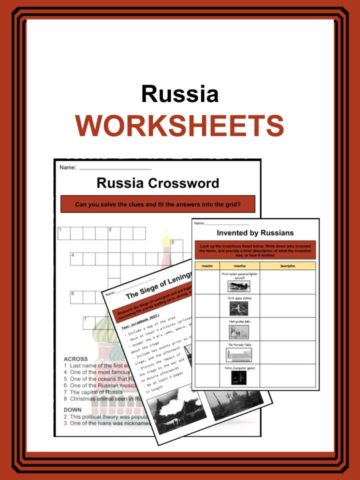 Russia Worksheets