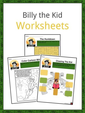 Billy the Kid Worksheets