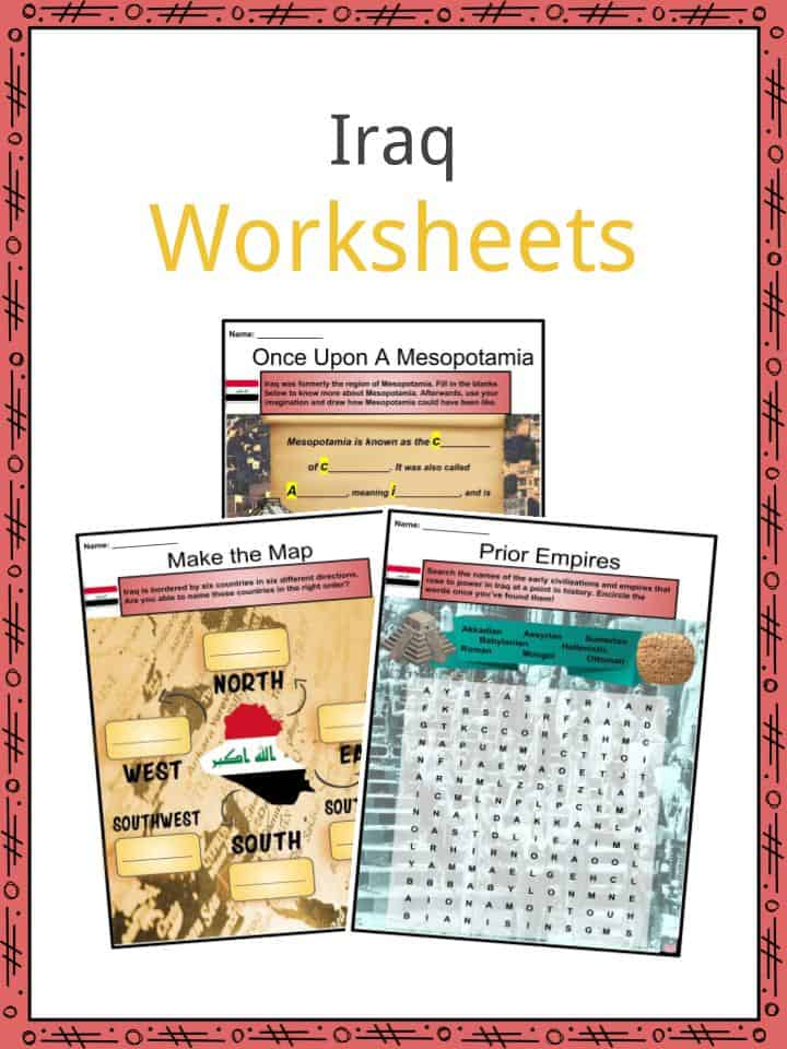 Iraq Worksheets