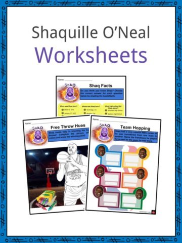 Shaquille O'Neal Worksheets