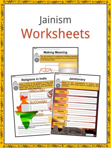 Jainism Worksheets