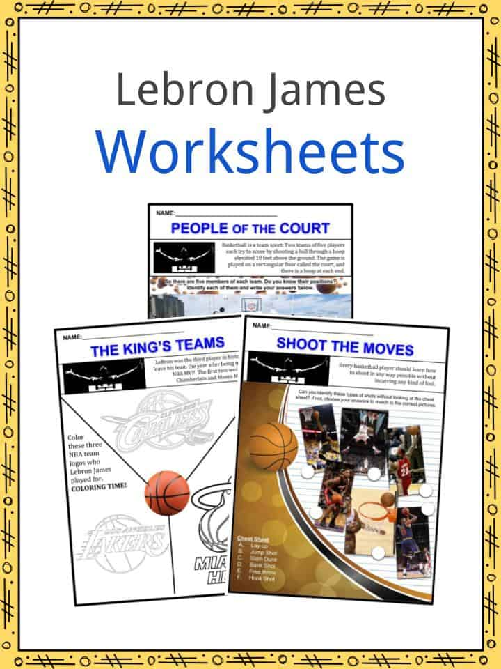 Lebron James Worksheets