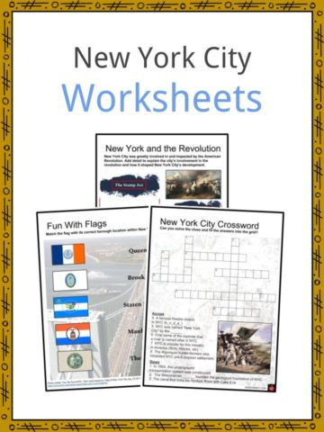 New York City Worksheets