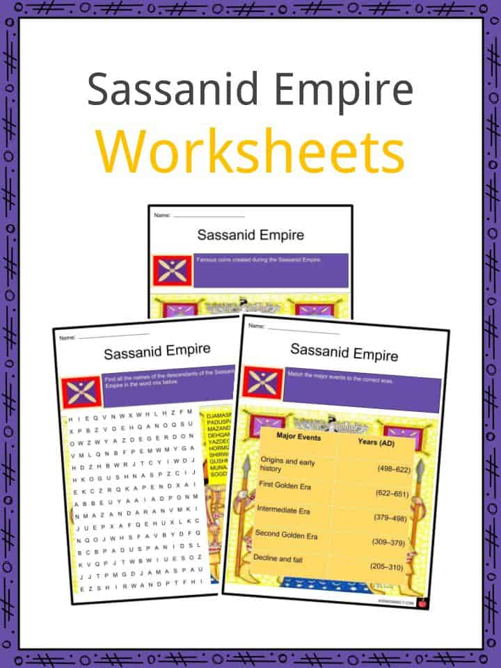 Sassanid Empire Worksheets