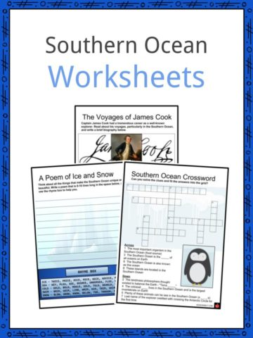 Southern Ocean Worksheets