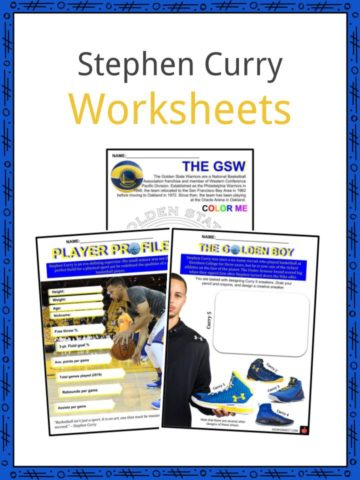 Stephen Curry Worksheets