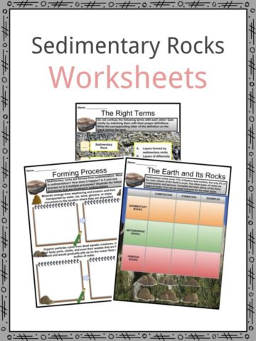 Sedimentary Rocks Worksheets