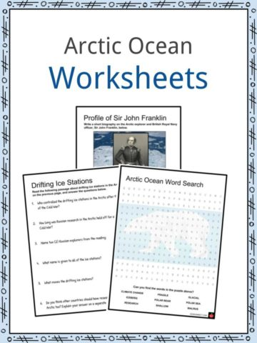 Arctic Ocean Worksheets