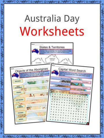 Australia Day Worksheets