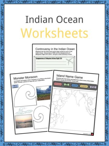 Indian Ocean Worksheets