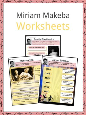 Miriam Makeba Worksheets