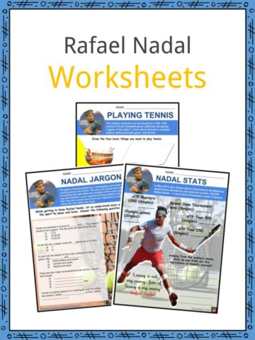 Rafael Nadal Worksheets
