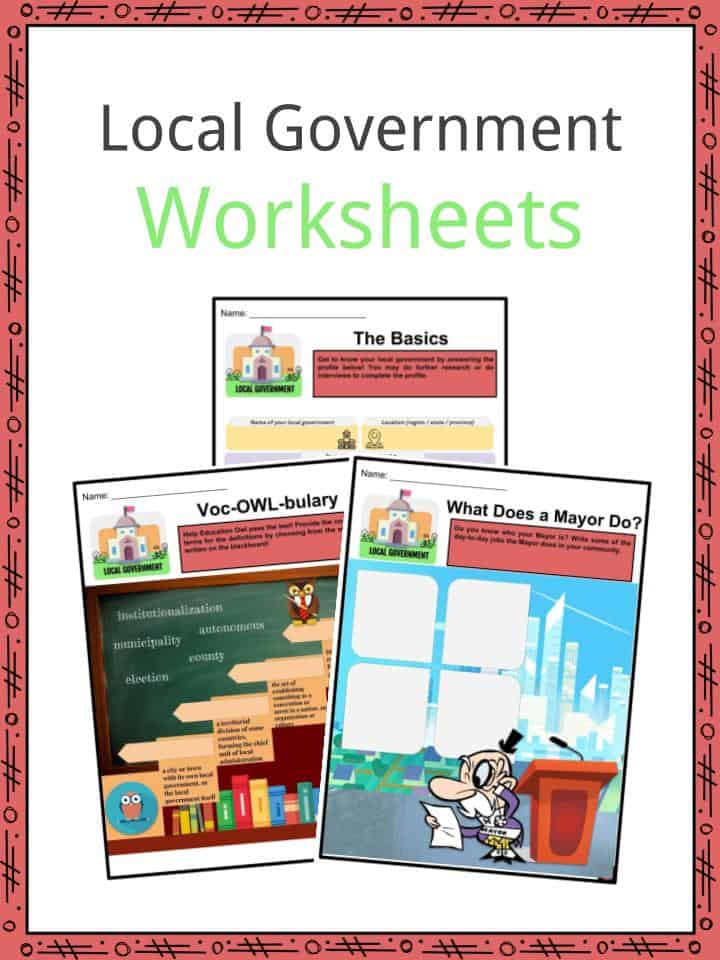 Local Government Worksheets
