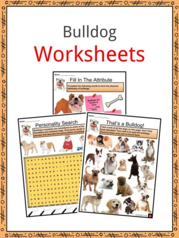 Bulldog Worksheets