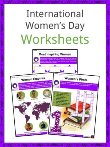 International Women's Day Worksheets
