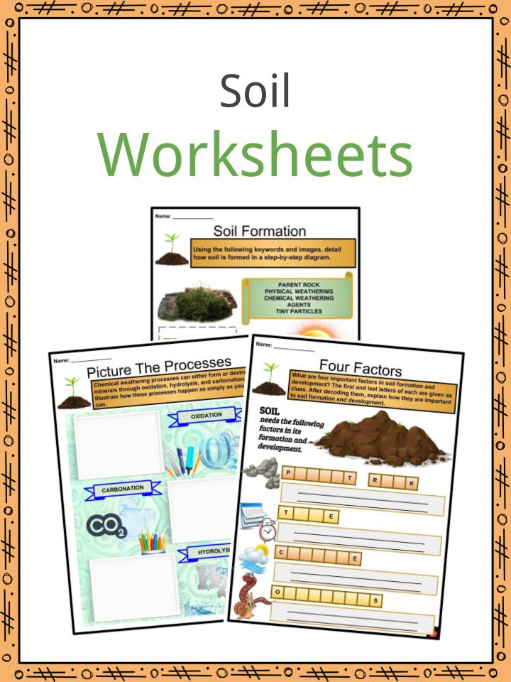 Soil Facts Worksheets And Formation