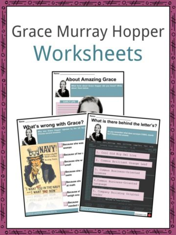 Grace Murray Hopper Worksheets
