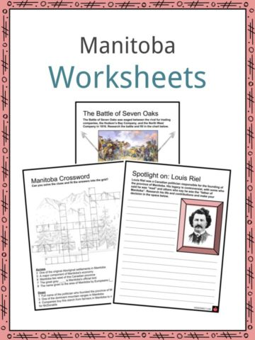 Manitoba Worksheets
