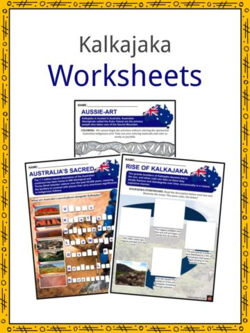 Kalkajaka Worksheets