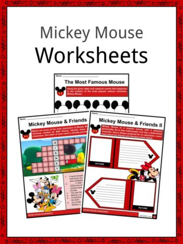 Mickey Mouse Worksheets