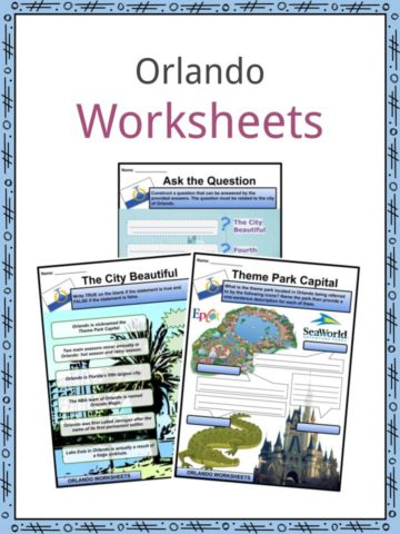 Orlando Worksheets