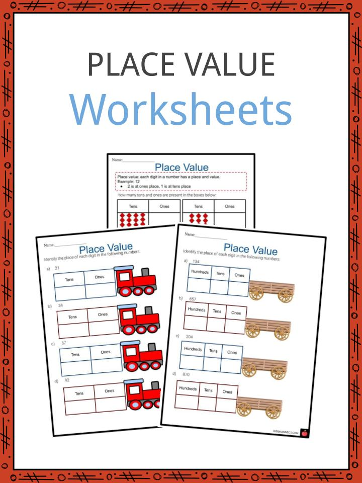 Place Value Worksheets Summary, Examples & Teaching Resources