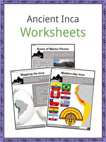 Ancient Inca Worksheets