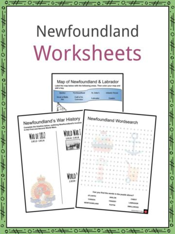 Newfoundland Worksheets
