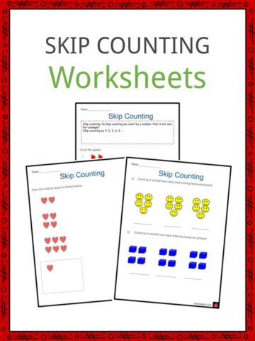 Skip Counting Worksheets