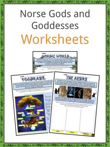 Norse Gods and Goddesses Worksheets