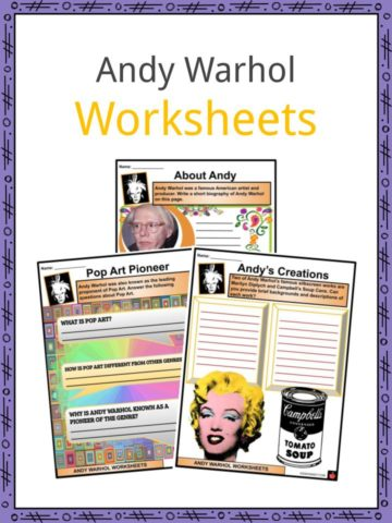 Andy Warhol Worksheets