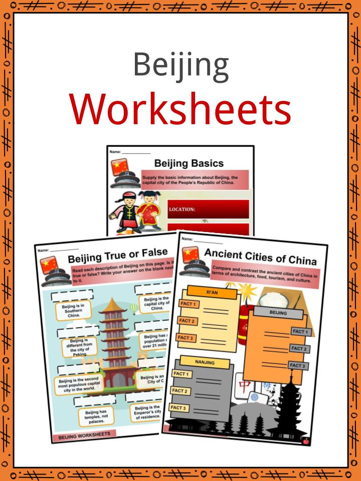 Beijing Worksheets