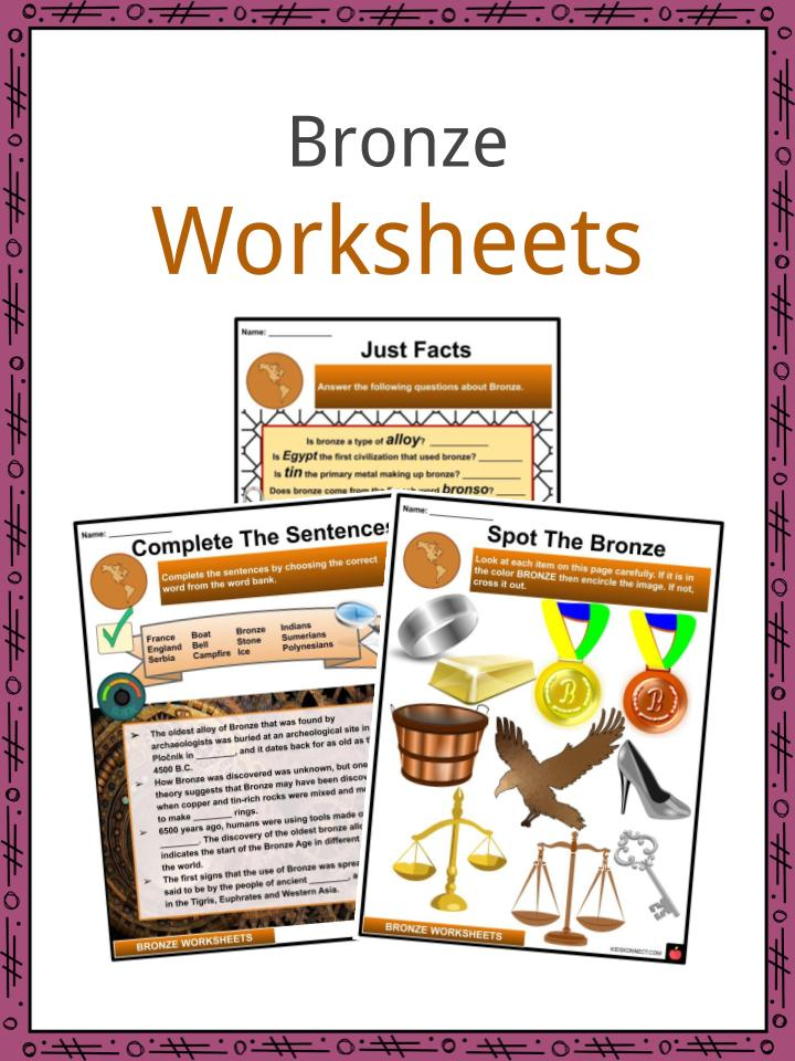 Bronze Worksheets